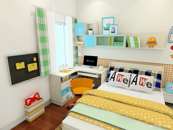 榻榻米儿童房装修设计效果图_维意定制家具商城