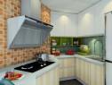 大户型厨房效果图 4�O不规则大改造_维意定制家具商城