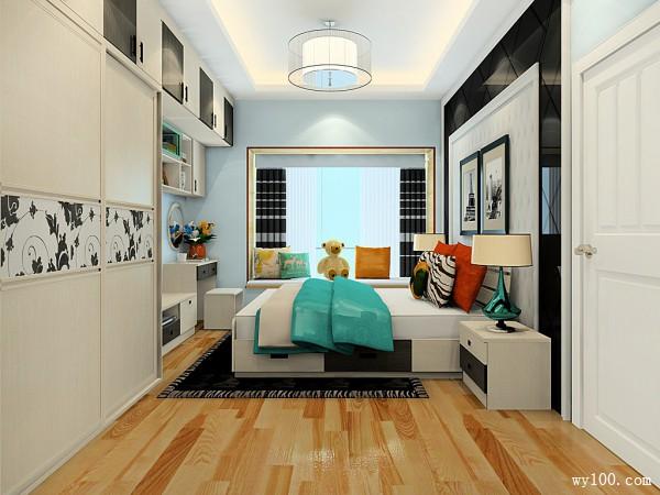 组合衣柜卧室效果图 14�O做出了24平的储物空间_维意定制家具商城