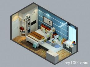 榻榻米卧室效果图 17�O收纳休闲简约空间_维意定制家具商城