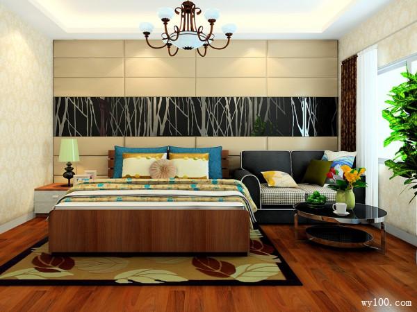 欧式沙发茶几卧室装修效果图