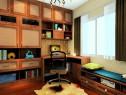 欧式书柜书房效果图 7�O摆放一目了然_维意定制家具商城