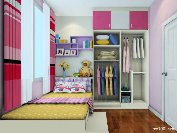 时尚吊柜卧室装修效果图