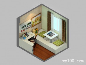 7�O简约书房 让心沉静的个人空间_维意定制家具商城