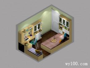 书房装修效果图 9�O不得不说的秘密_维意定制家具商城