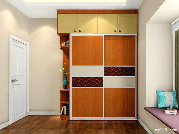 小户型卧室装潢设计 11�O衣柜装出大空间_维意定制家具商城