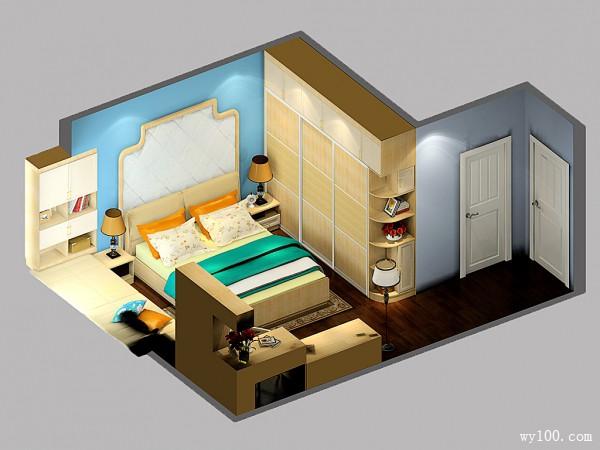 雅致卧室设计 23�O巧设飘窗收纳不再烦_维意定制家具商城
