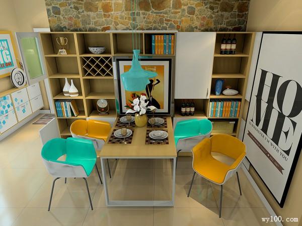 小户型客厅设计收纳神柜 从此向拥挤说拜拜_维意定制家具商城