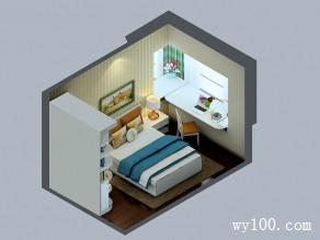 田园卧室装修效果图 10�O让人身心放松_维意定制家具商城