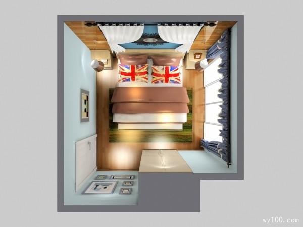 床头柜卧室效果图 10�O床头柜强大的储物量_维意定制家具商城
