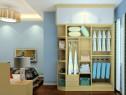 壁纸卧室装修效果图 8�O壁纸搭配儒雅时尚_维意定制家具商城
