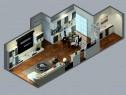 落地窗客餐厅效果图 62�O有一种清新自然的感觉_维意定制家具商城