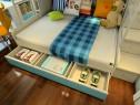 上下床儿童房装修图 9�O整体空间储物性强大_维意定制家具商城