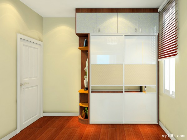 电视柜卧室效果图 19�O在房间看电视也是一种享受_维意定制家具商城