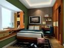整体衣柜列卧室效果图 8�O置身森林的清新舒适_维意定制家具商城