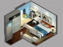 地中海卧室装修效果图 23�O飘窗增加休闲的区域_维意定制家具商城