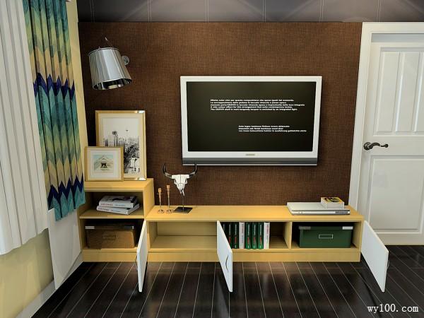 开放式客餐厅效果图 42�O风格时尚简约、精致_维意定制家具商城