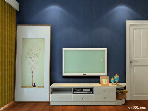 儿童卧室窗帘效果图 15�O让整个空间即新颖又大气_维意定制家具商城