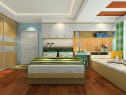 榻榻米柜卧室 打造简洁卧室_维意定制家具商城