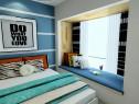小户型简约现代卧室效果图 8�O这样装一点也不小_维意定制家具商城