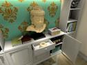 欧式客餐厅效果图 主题色调给人清爽舒服感_维意定制家具商城