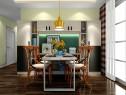 简约实用客餐厅效果图 37平空间合理利用_维意定制家具商城
