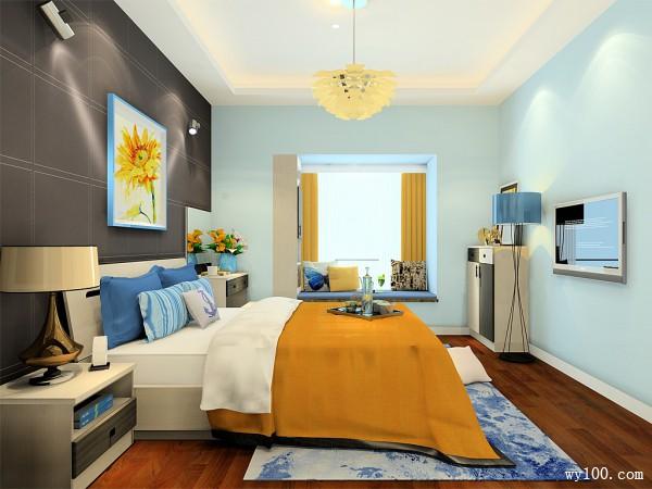 卧室装修效果图 巧用窗帘睡眠好_维意定制家具商城