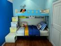 上下床儿童房 蓝色海洋主题_维意定制家具商城