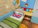书桌隔断儿童房效果图 8�O让空间显得整体统一_维意定制家具商城