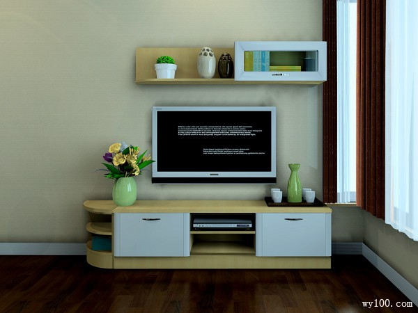 现代卧室设计 空间利落给人温馨感_维意定制家具商城