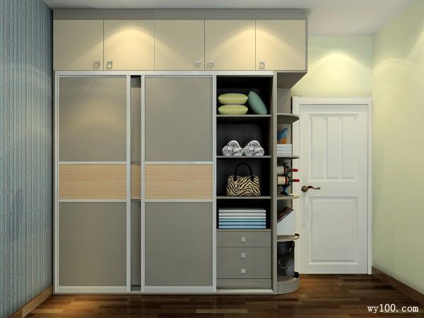 现代衣柜卧室装修效果图