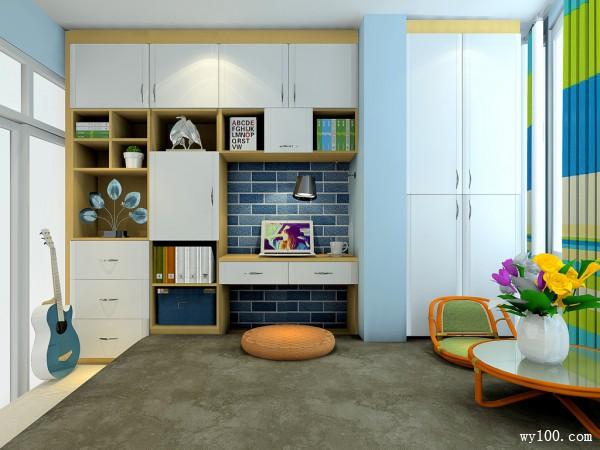 榻榻米实用型卧室 具有强大的收纳功能_维意定制家具商城