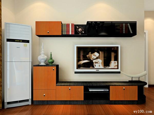 隔断柜客餐厅效果图 27�O让空间产生联系_维意定制家具商城