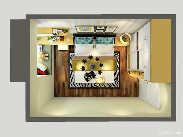 吊顶衣柜卧房效果图 12�O打造成舒适的休闲区_维意定制家具商城