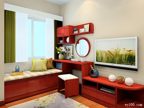 古典风卧室效果图 15�O让空间更显沉稳大气_维意定制家具商城