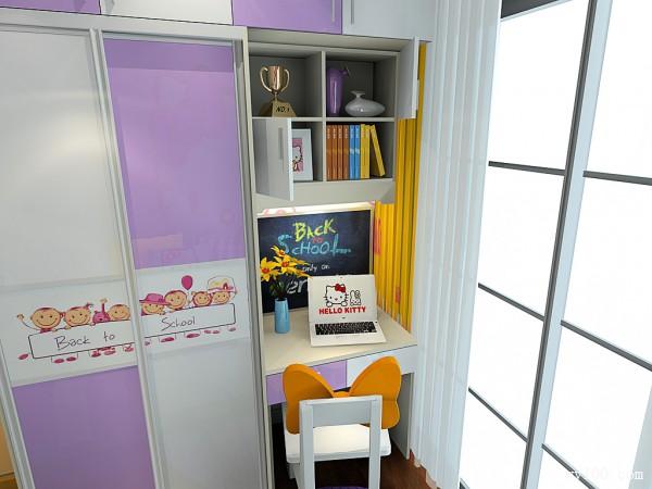 hello Kitty儿童房装饰 每个小女生小公举梦_维意定制家具商城