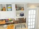 白色厨房效果图 6平呈现了厨房柜体优雅气息_维意定制家具商城