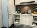 一字型橱柜布局厨房 呈现柜体优雅气息_维意定制家具商城