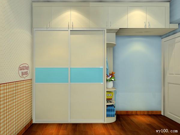 榻榻米儿童房效果图 11平整体空间设计简洁和温馨_维意定制家具商城