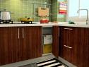 时尚简约厨房 3�O 超强收纳存储_维意定制家具商城