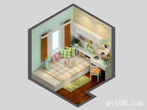 榻榻米卧室效果图 6平韩式田园的风格_维意定制家具商城