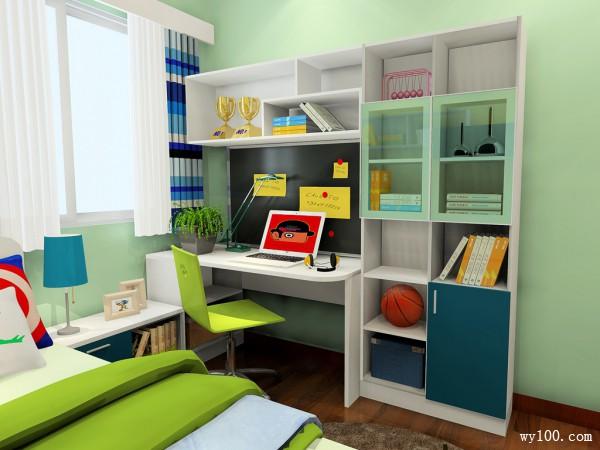 书柜儿童房装修效果图