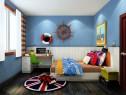 海洋风儿童房效果图 10�O给你一个出海漂泊的体验_维意定制家具商城