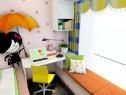 飘窗衣柜儿童房效果图 9平有效利用空间_维意定制家具商城