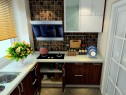 秋意印象风格厨房效果图_维意定制家具商城