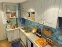 田园特色面板厨房效果图_维意定制家具商城
