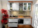 一字型橱柜效果图 4平满足了厨房的基本功能_维意定制家具商城