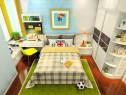 11�O定制儿童房凹位设计效果图_维意定制家具商城