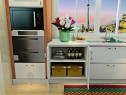 小户型L型厨房效果图 5�O储物柜、炉灶柜齐全_维意定制家具商城