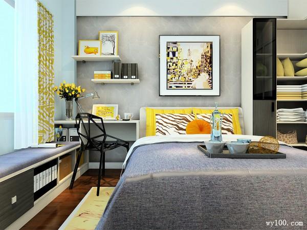 欧式卧房效果图 15�O小户依然可以享受低调奢华_维意定制家具商城